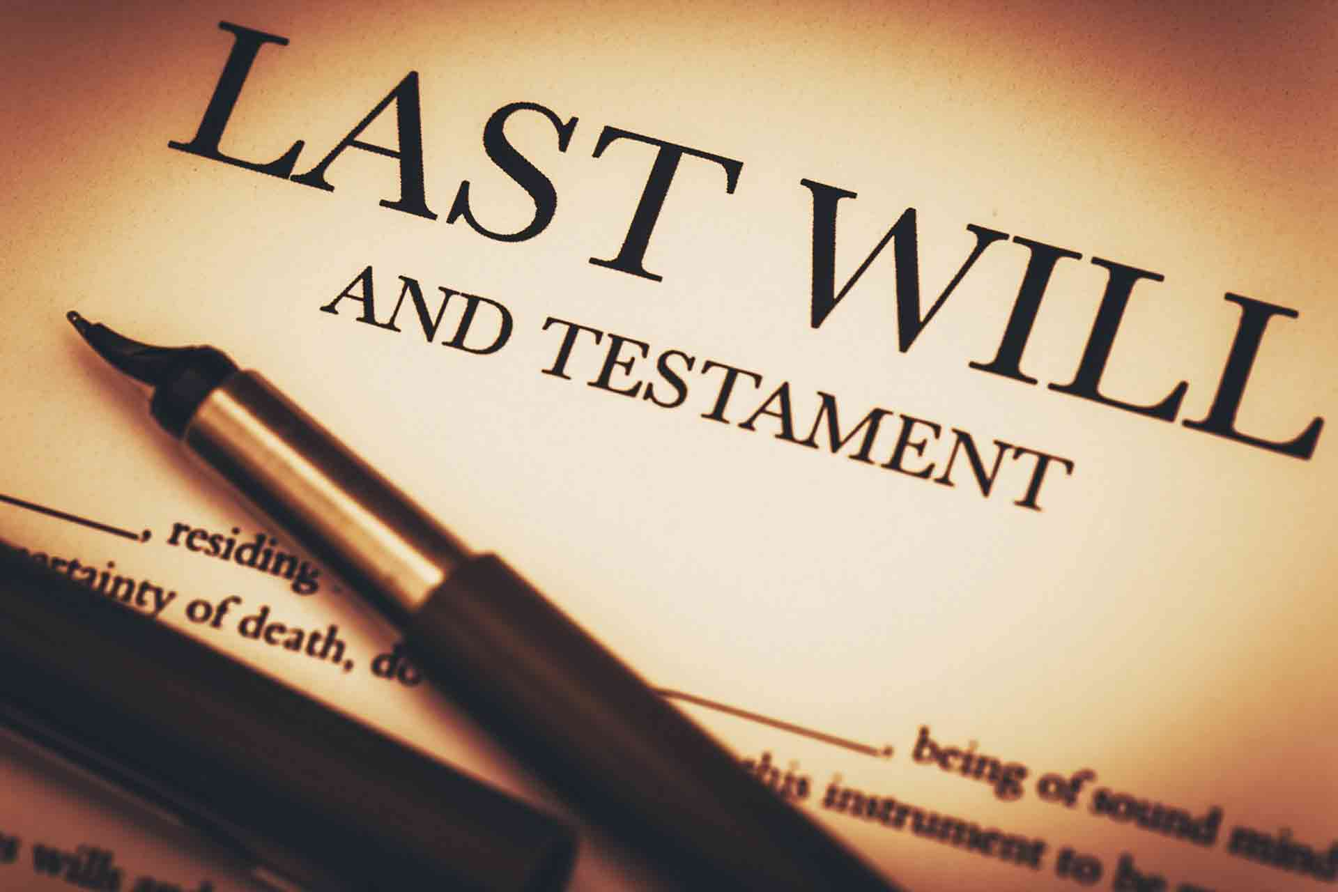 Wills & Lasting Power of Attorney